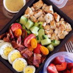 Egg, Sausage, Bell Pepper, and Avocado Breakfast Meal Prep