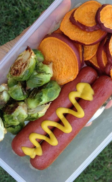 hot dog meal prep inspo