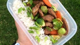 stir fry meal prep recipe