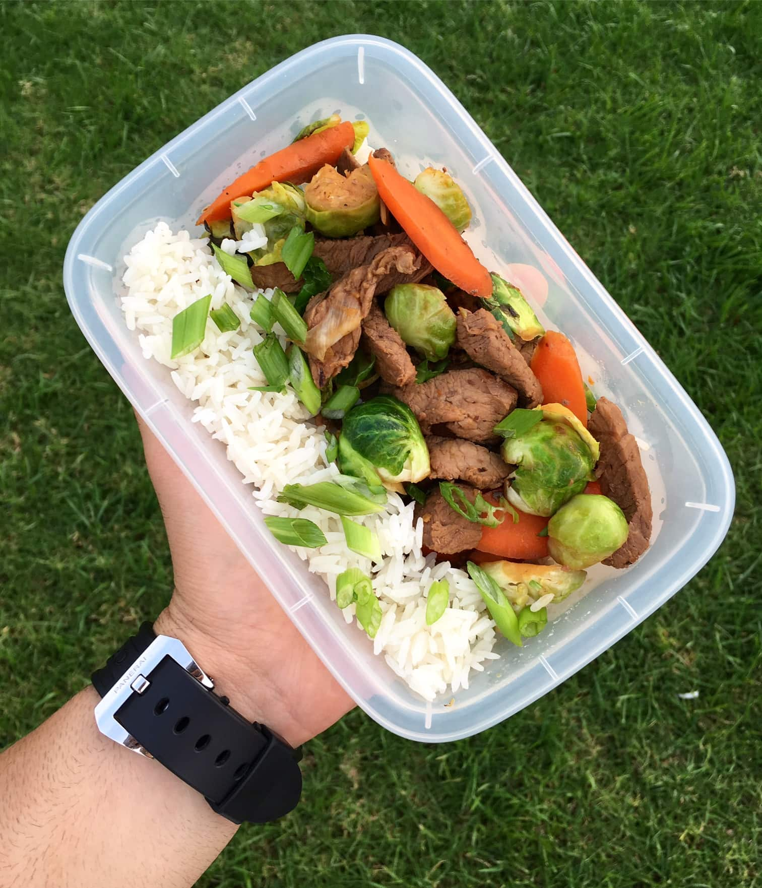 Steak and Brussels Sprout Stir-Fry Meal Prep - Meal Prep ...