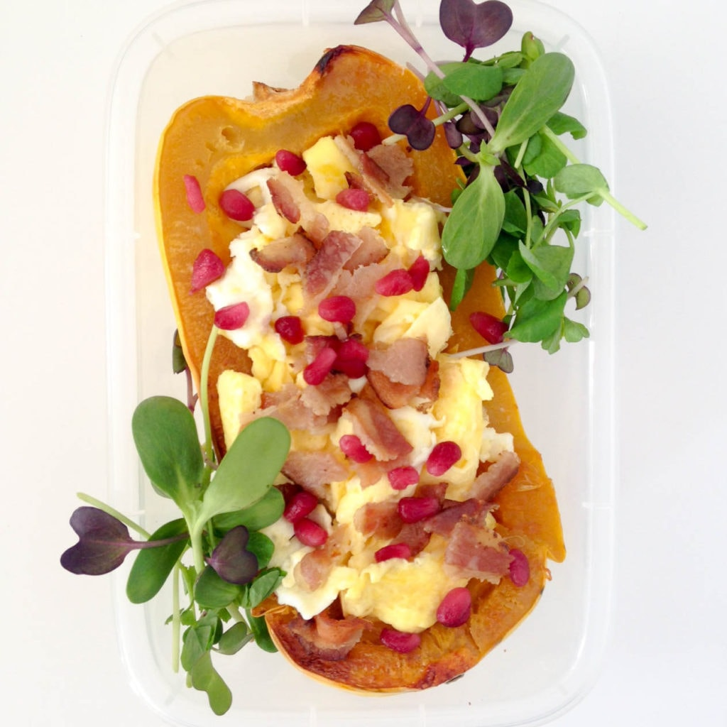 stuff-delicataed-squash-egg-bacon-meal-prep