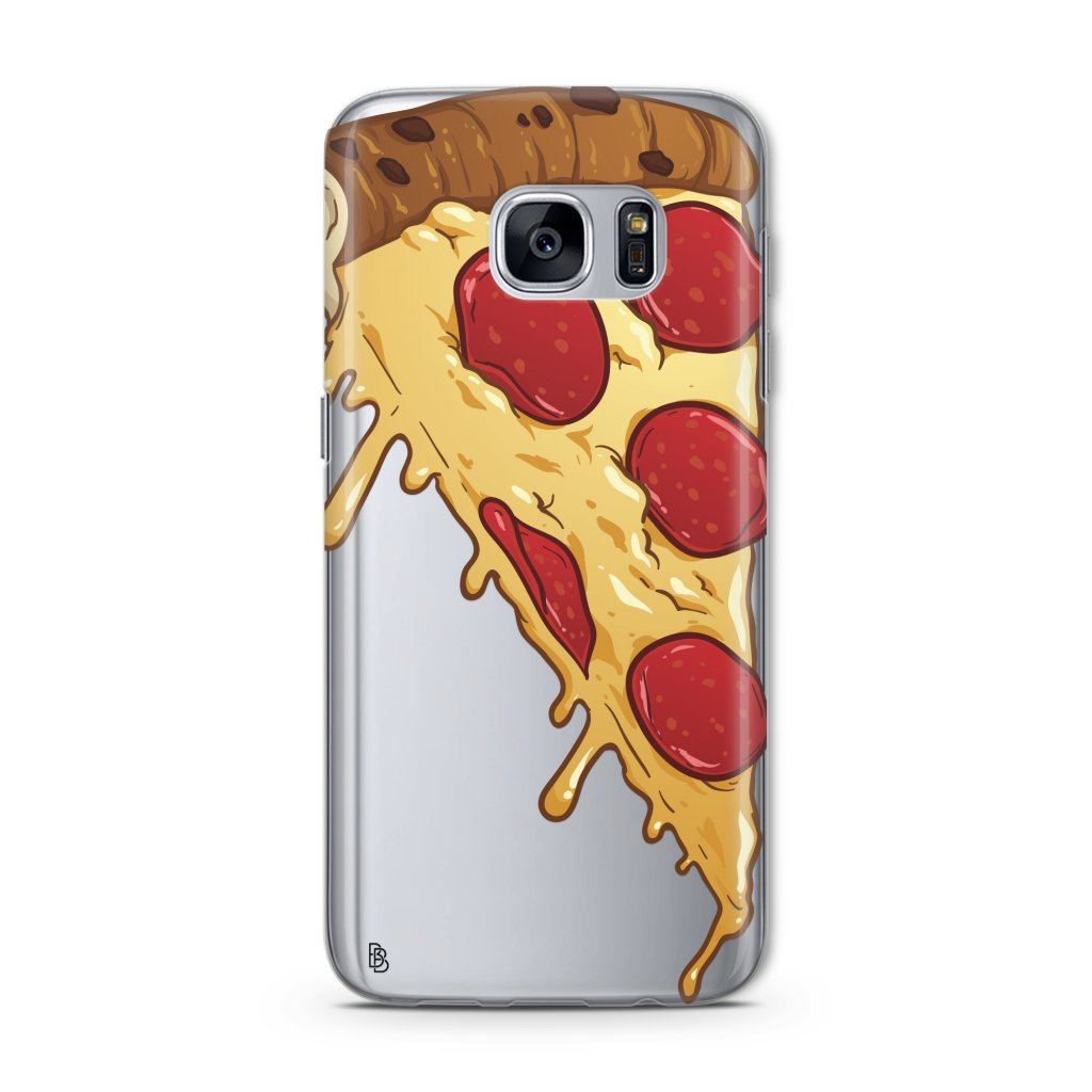 pizza-slice-samsung-case-silver