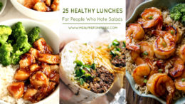 25 Healthy Lunch Recipes