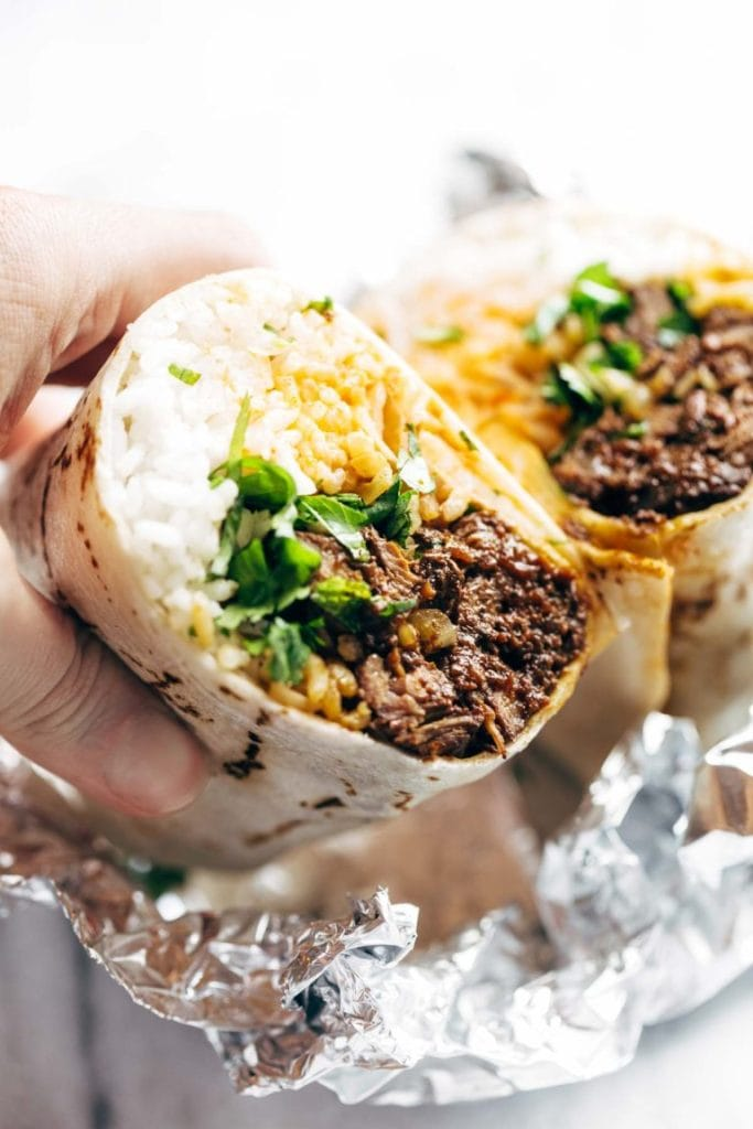 korean bbq burrito