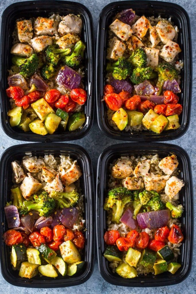Roasted Chicken & Veggies