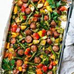 Healthy Sausage & Veggies