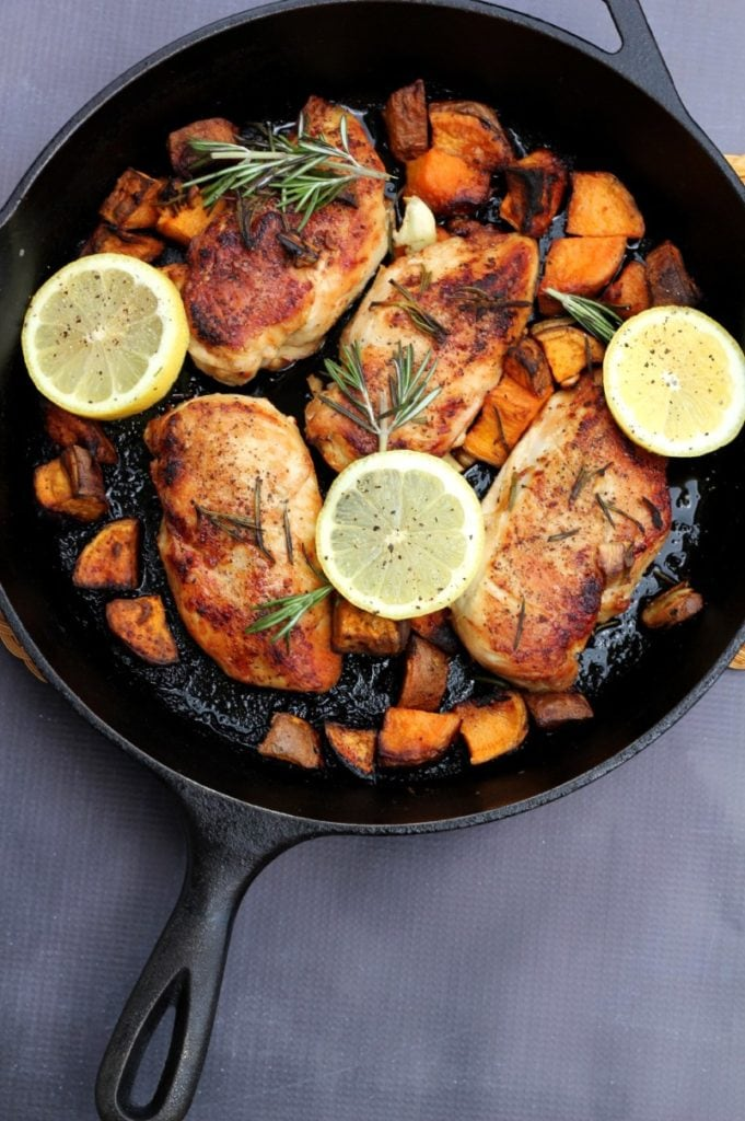 meal prep lunch idea: rosemary chicken