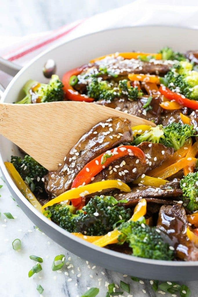 teriyaki beef stir fry meal prep lunch