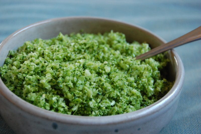 broccoli rice - Alternatives To White Rice