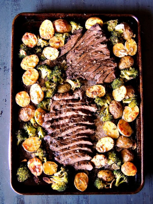 Sheet Pan Recipes with Steak and Potatoes