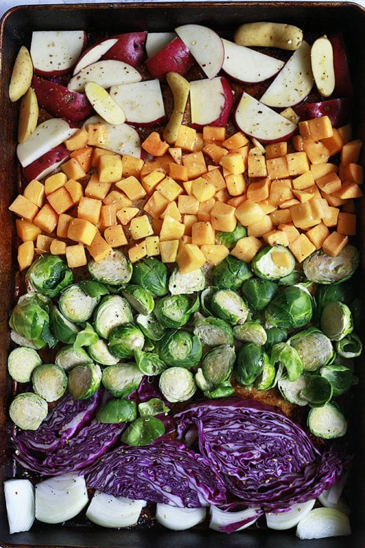 Buddha Bowl Sheet Pan Recipes