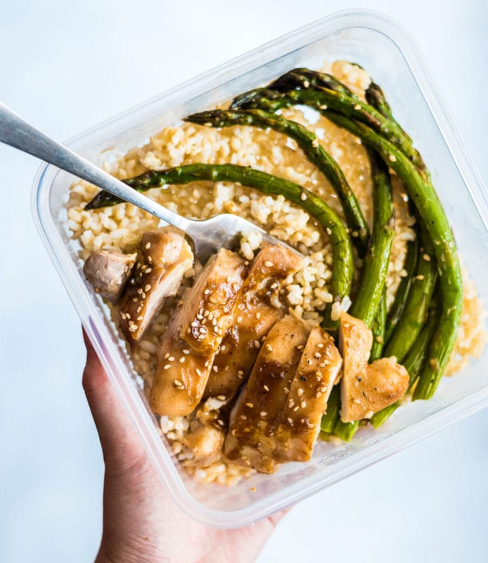 One Pan Chicken and Asparagus