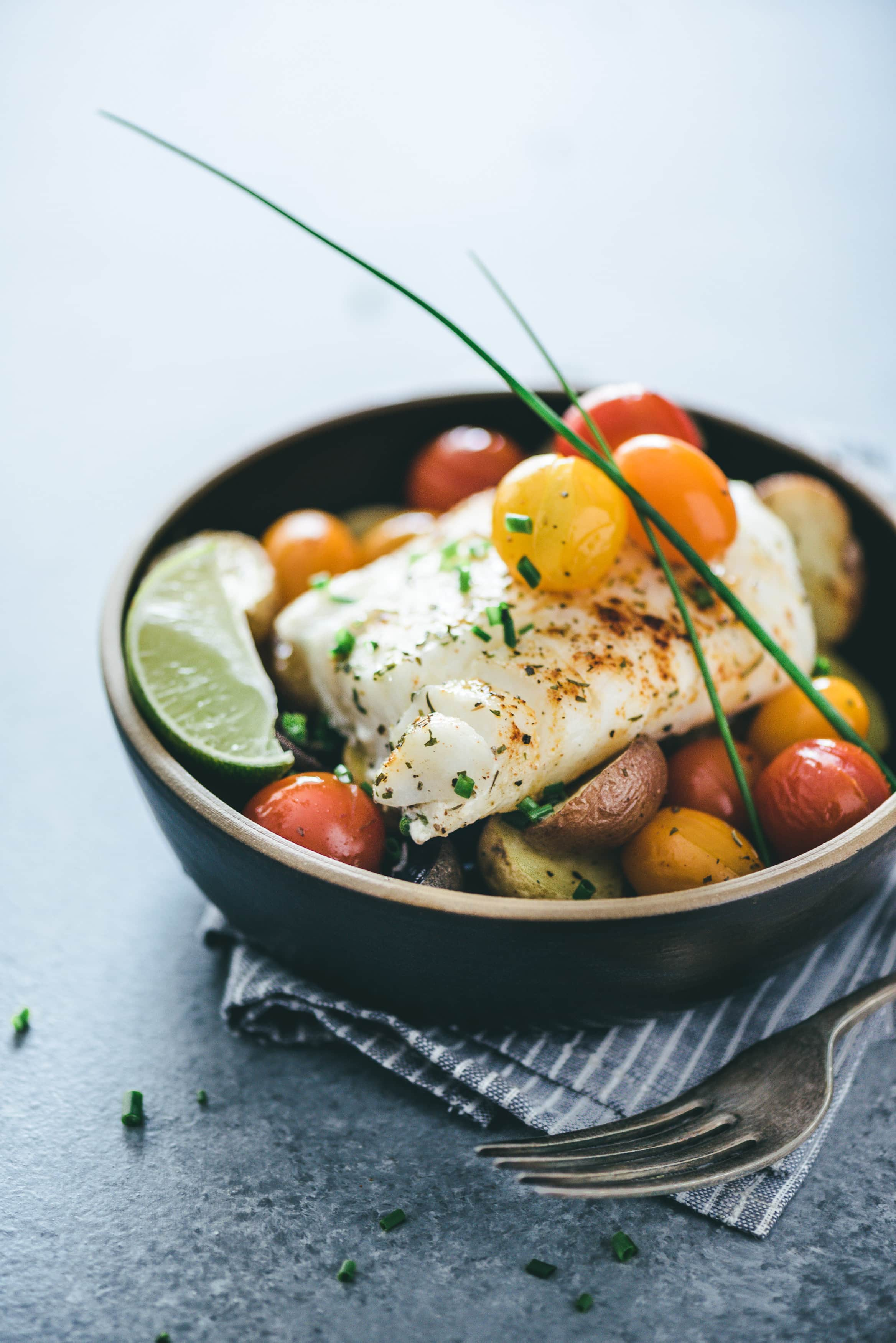 One-Pan-Baked-Cod-And-Veggies