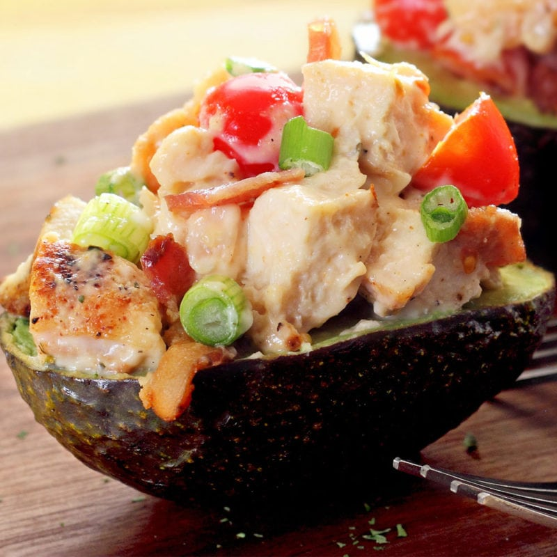 stuffed CA avocado