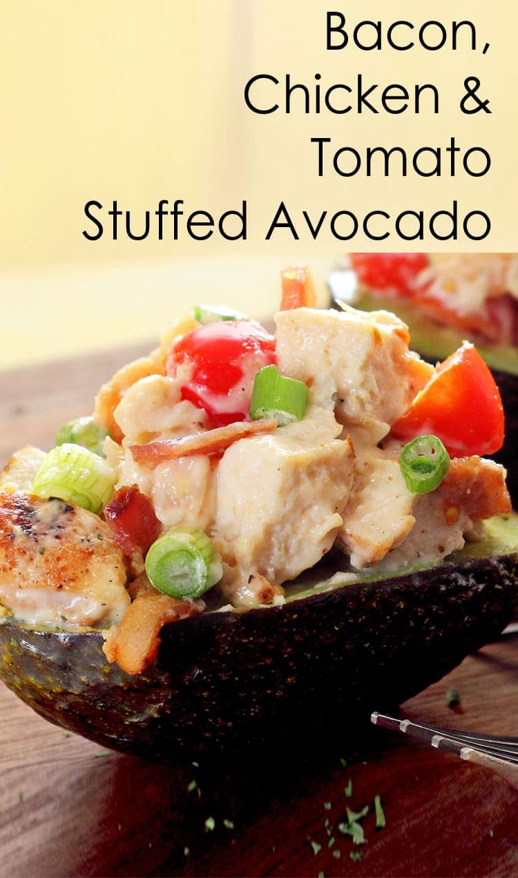 Chicken Stuffed Avocado recipe