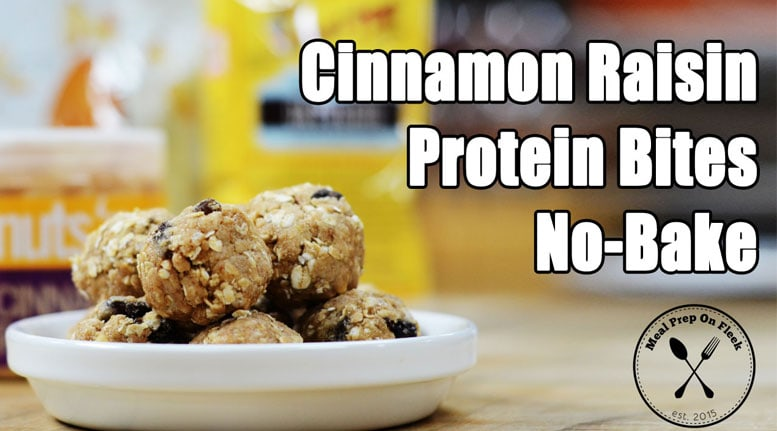 Cinnamon Raisin Energy Bites recipe
