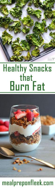 healthy snacks that burn fat
