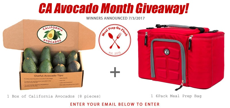 CA Avocado Month Giveaway