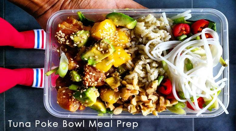 Tuna Poke Bowl Meal Prep