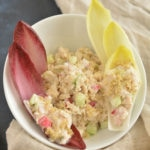 Tuna Quinoa Salad In Endive Wraps