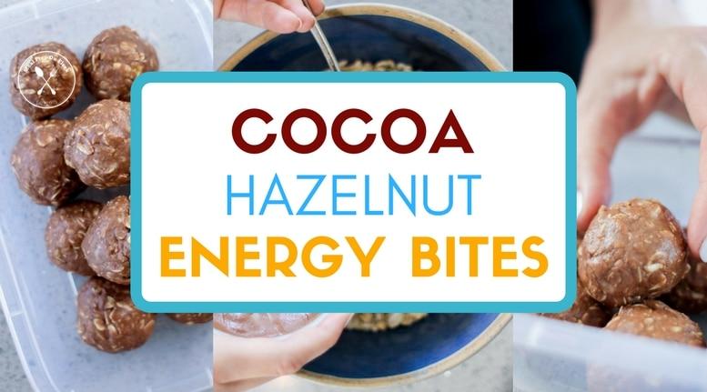 Cocoa Hazelnut Energy Bites