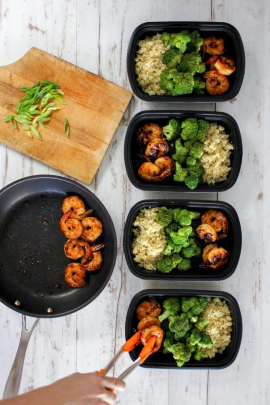 paleo diet meal prep containers