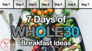 Whole30 Breakfast Ideas