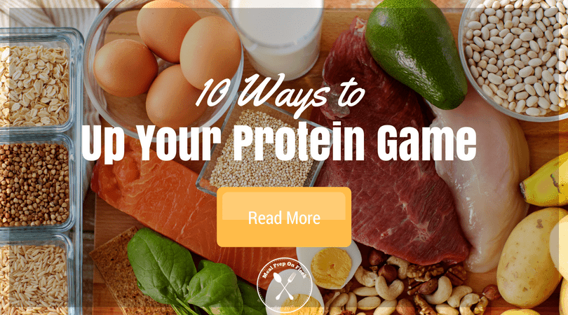 10 Ways to get more protein