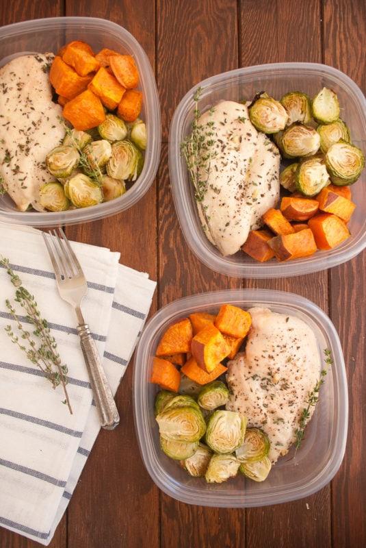 Garlic & Thyme Chicken Meal Prep