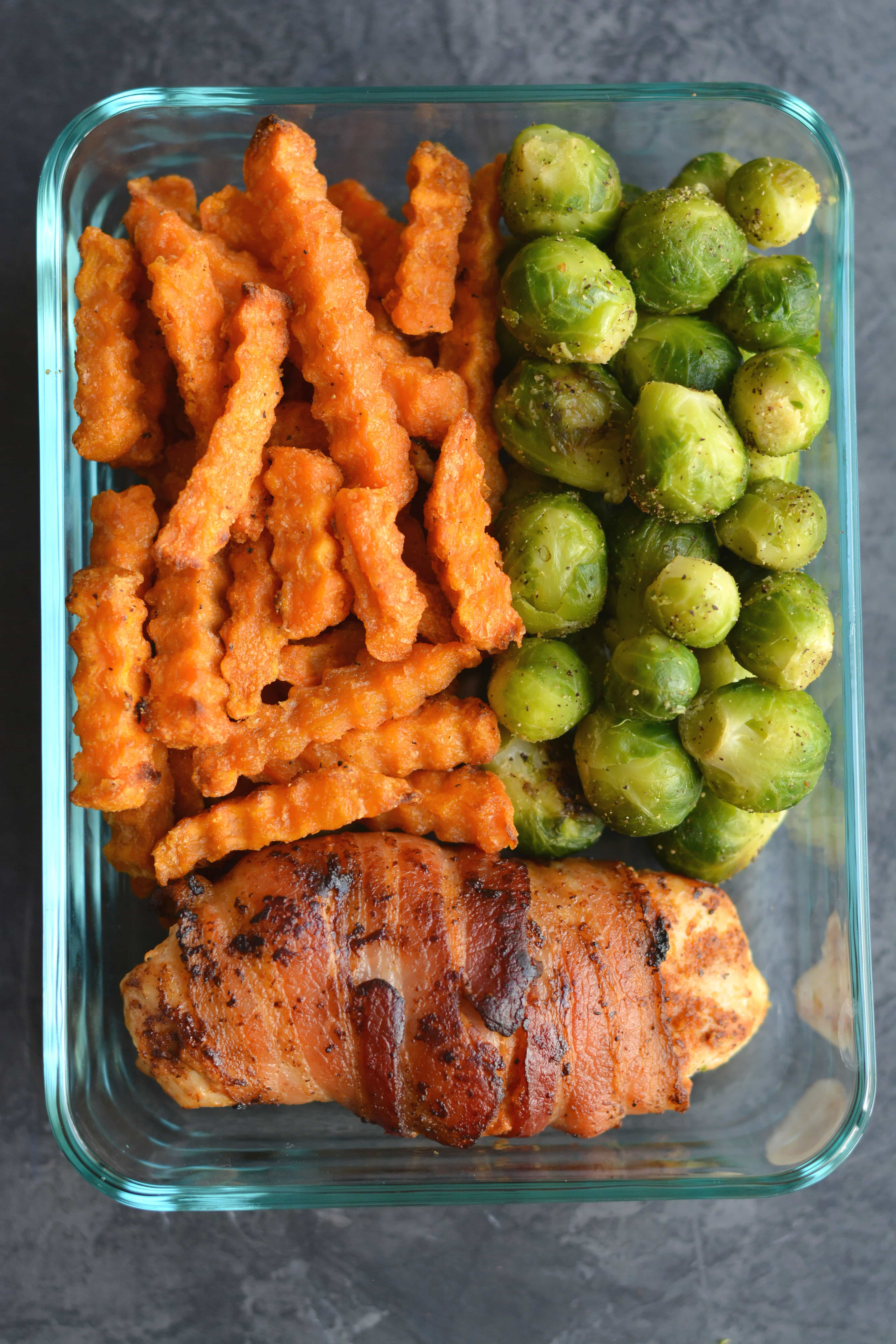 Bacon Wrapped Chicken Meal Prep Recipe