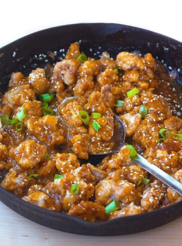 Sticky Sesame Cauliflower Recipe
