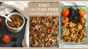 DIY Gluten Free Snack : Easy Gluten Free Fall Breakfast Granola