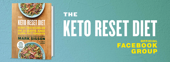 Mark Sisson Keto Reset Book