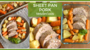Fall Meal Prep Idea: Sheet Pan Pork Tenderloin Meal Prep