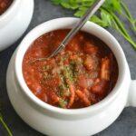 Crockpot Pumpkin Chili Meal Prep Recipe