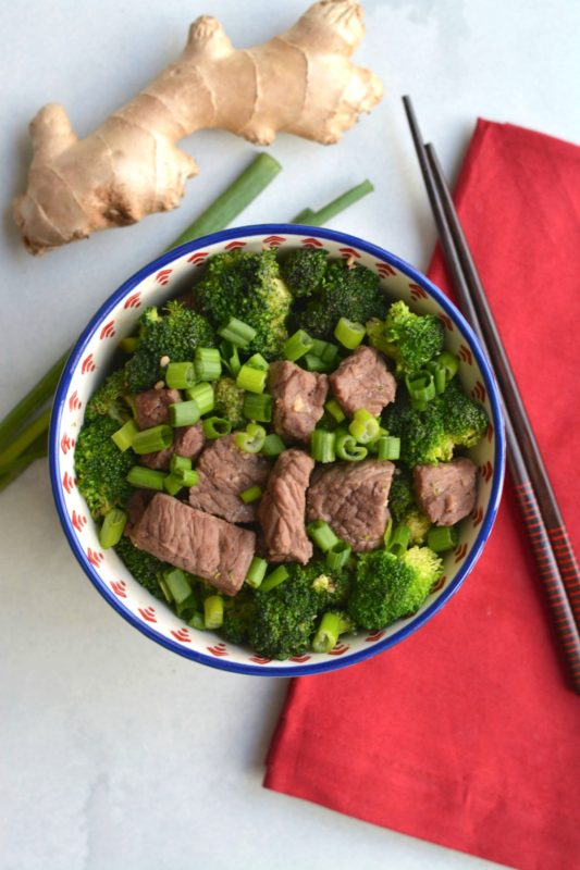 Low Carb Beef & Broccoli Stir Fry Meal Prep