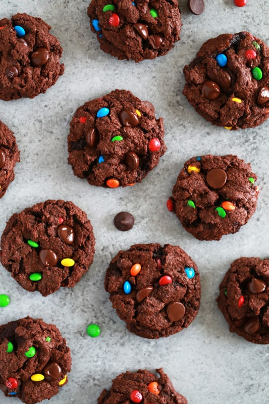 double-chocolate-mms-cookies-5