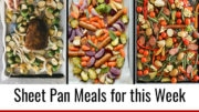 Meal Prep Menu: Sheet Pan Recipes