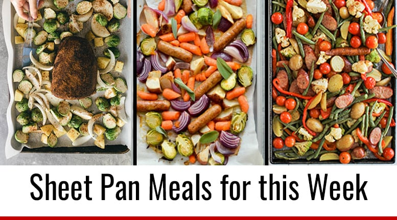 Meal Prep Menu: Sheet Pan Recipes