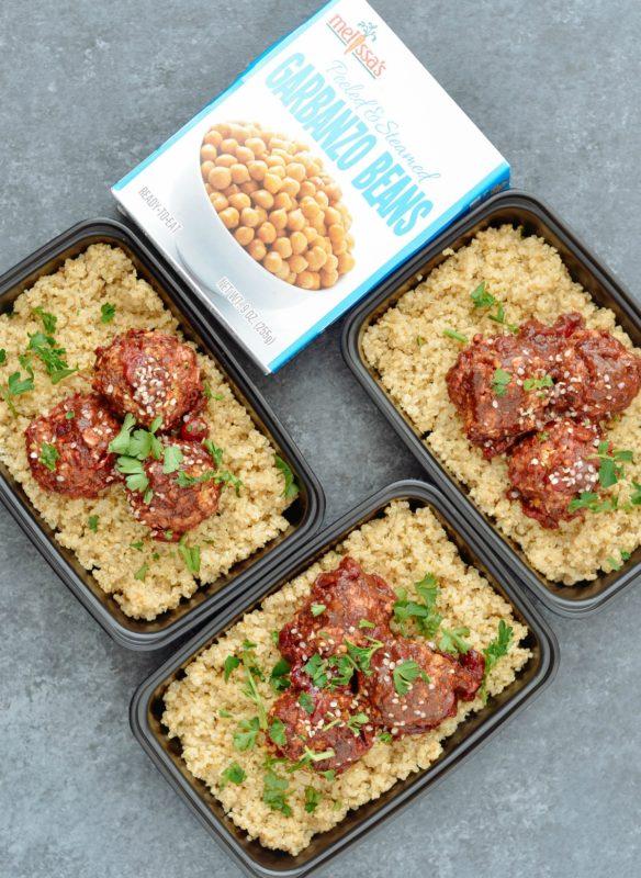 Cranberry BBQ Vegan Meatballs