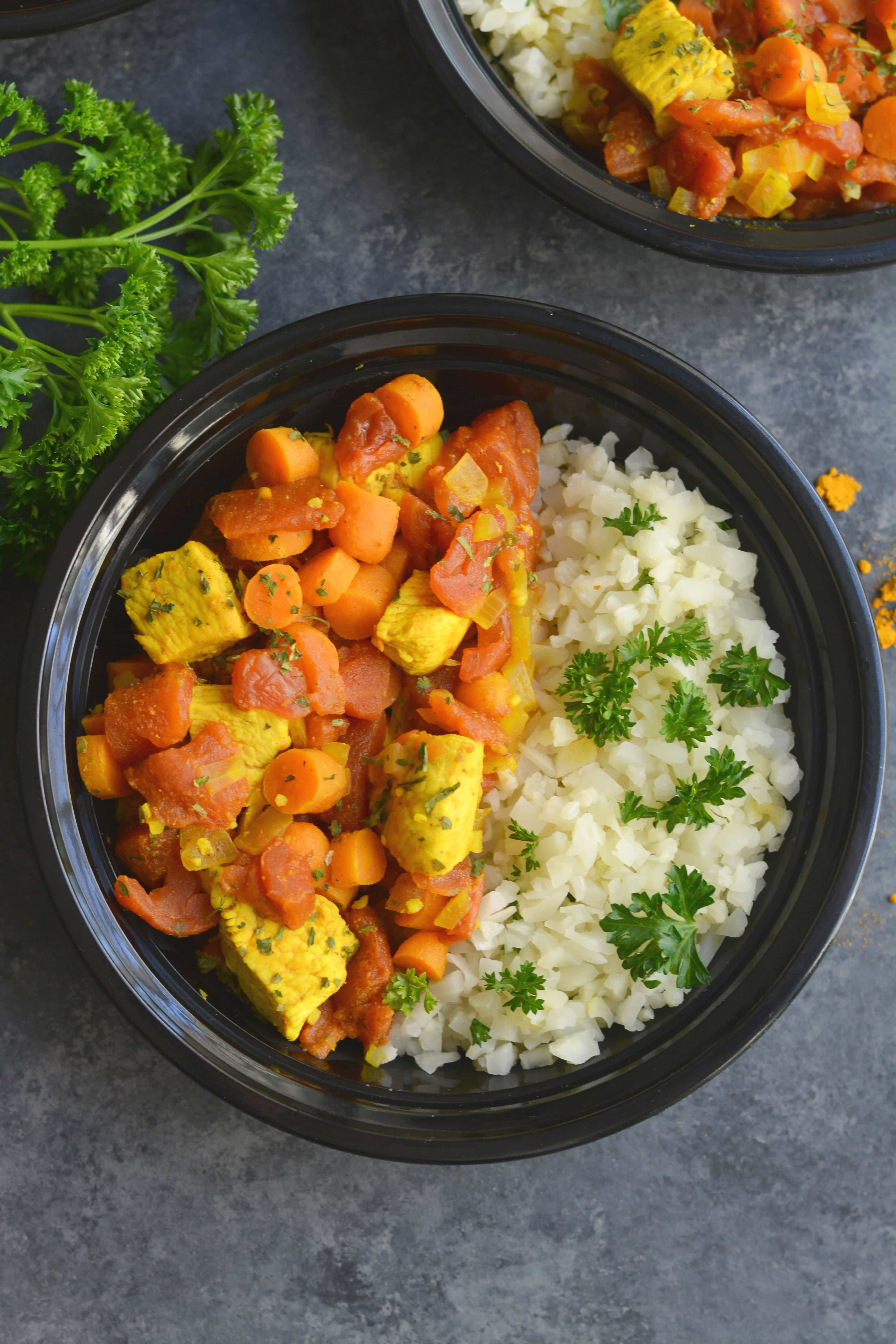 Moroccan Turmeric Chicken Stew