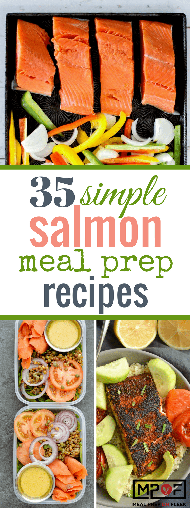 35 Simple Salmon Meal Prep Recipes