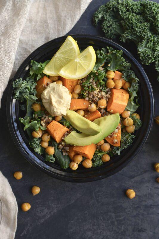 Loaded Mediterranean Bowl Meal Prep