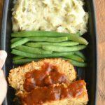 Apple BBQ Meatloaf & Mashed Potato Meal Prep