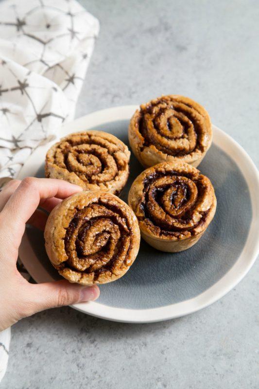 Gluten Free Cinnamon Roll Meal Prep