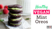 Healthy Vegan Mint Oreos