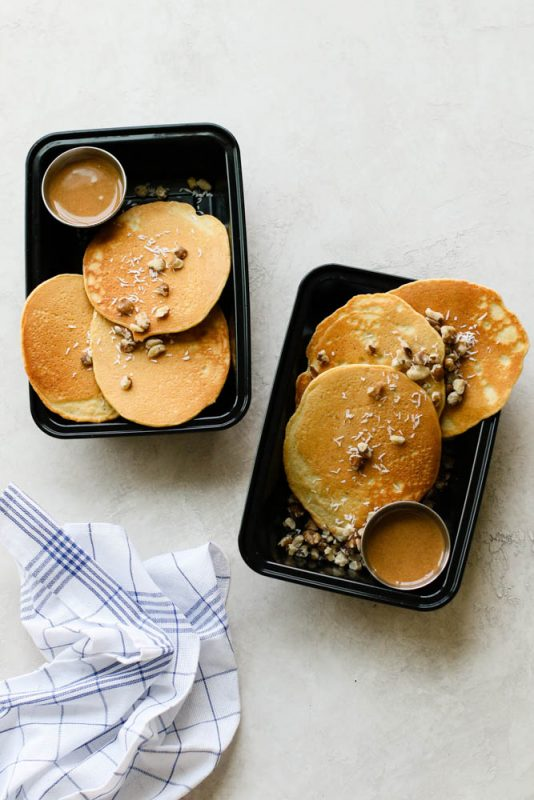 Nutty Keto Pancake Meal Prep