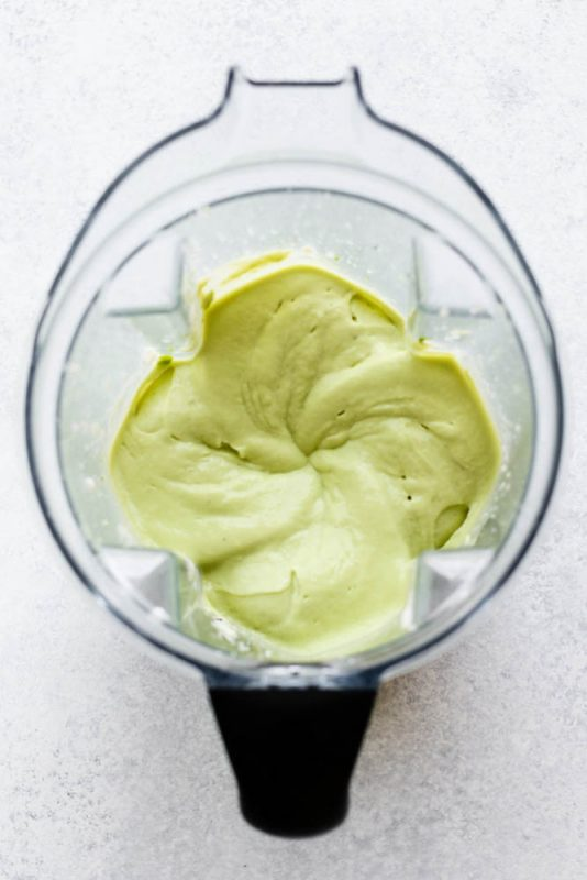 Chilled Avocado Soup Meal Prep