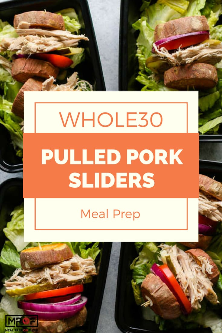 Whole30 Pulled Pork Sliders Meal Prepblog