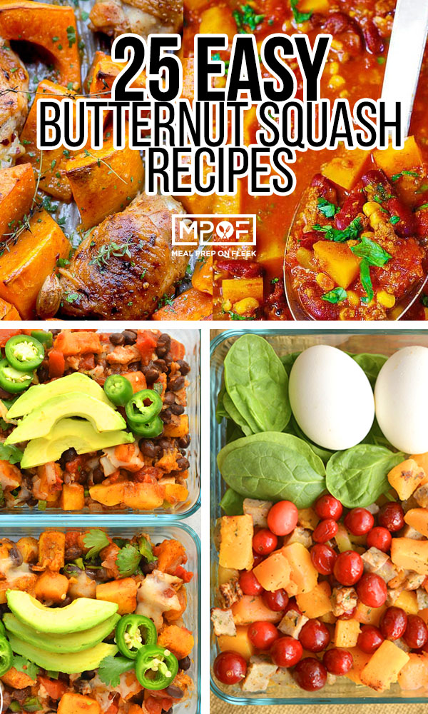 Easy butternut squash recipes